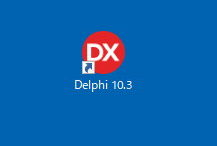 Windows10 Delphi10.3