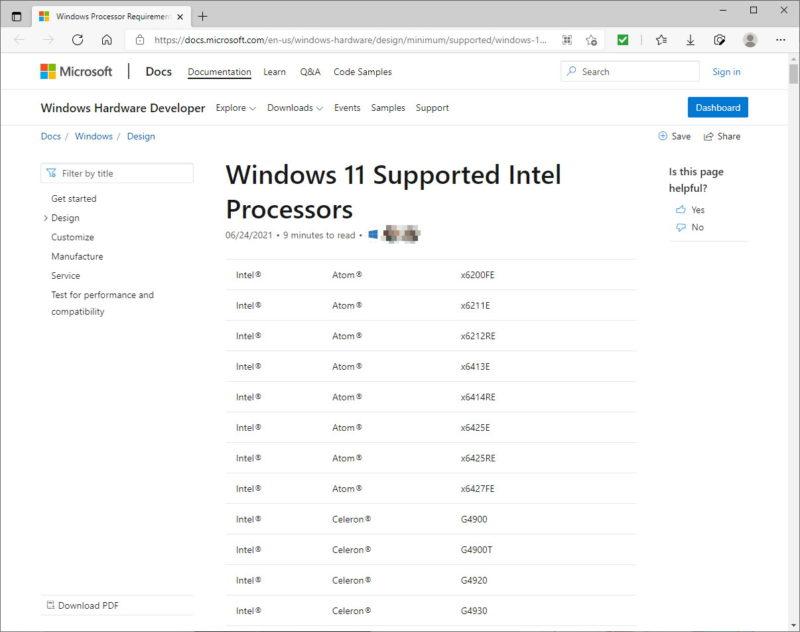パソコン Windows11 対応 サポート CPU 型番